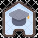 Home Graduation Education Online School Icon