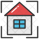 Inspection Home Building Icon