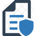 Home Security Policy Icon