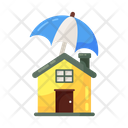 Home Protection Home Security Real Estate Insurance Icon