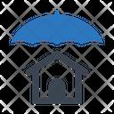 Home Insurance Home Protection Umbrella Icon