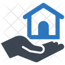 Hands Home Insurance Protection Icon