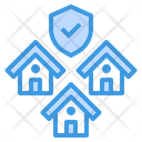 Security House Shield Icon