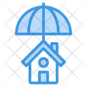 Insurance Coverage House Icon