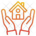 House Insureance Hand Icon
