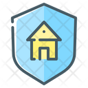 House Security Shield Icon