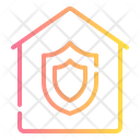 Home Insurance Computer Security Icon