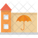 Home Insurance Intellectual Property Property Insurance Icon
