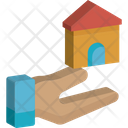 Home With Moon Moon House Icon