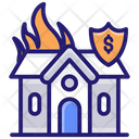 Home Insurance Home Protection Fire Insurance Icon