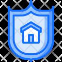 Shield Building Architecture Icon
