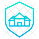 House Insurance Property Insurance Shield For Home Icon