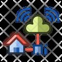 Internet Home Network Icon