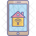 Home Internet Access Home Wifi Home Wifi Service Icon