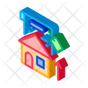Investment House Refinance Icon