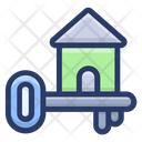 Home Key Door Key Safety Icon