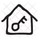Home Key House Icon