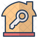 Key Lock Security Icon