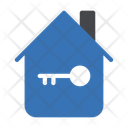 Home Key House Key Property Key Icon