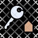 Home Key House Key Key Icon