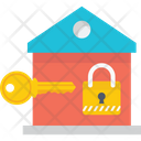 Home Key Downpayment House Ownership Icon
