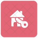 House Key Home Icon