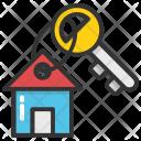 House Key Chain Icon