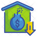 Liability Debt Bomb Icon
