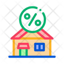 Credit House Borrowed Icon