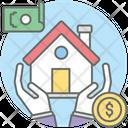 Bank Loan Home Equity Loan Borrowing Icon