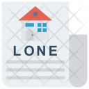 Document Paper House Icon