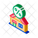 Credit House Borrowed Icon