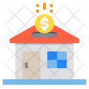 Money File House Icon