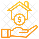 Home House Coin Icon