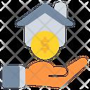 Home House Coin Icon