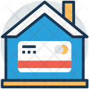 House Credit Card Icon