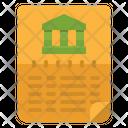 Home Loan Loan Contract Loan Document Icon