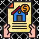 Mortgage House Estate Icon