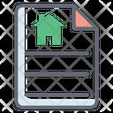 Home Loan Paper Icon