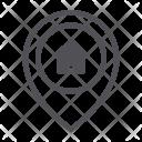 Home Location Pin Icon