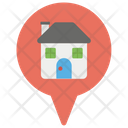 Home Location House Address Icon