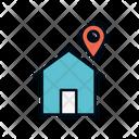 Home Location Location Pointer Save Location Icon