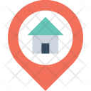 Home Location Gps Icon