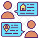 Mchat Location Share Home Home Location Online Home Location Icon