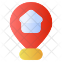 Pin Map Home Icon