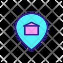 Building Sale Address Icon