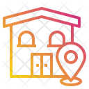 House Map Pin Icon