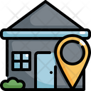 House Location Pinpoint Icon