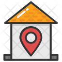 Home Pin Location Icon