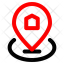 Map Home Pin Icon